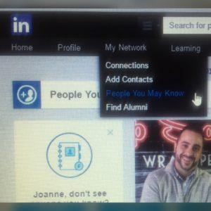 LinkedIn People You May Know Tool