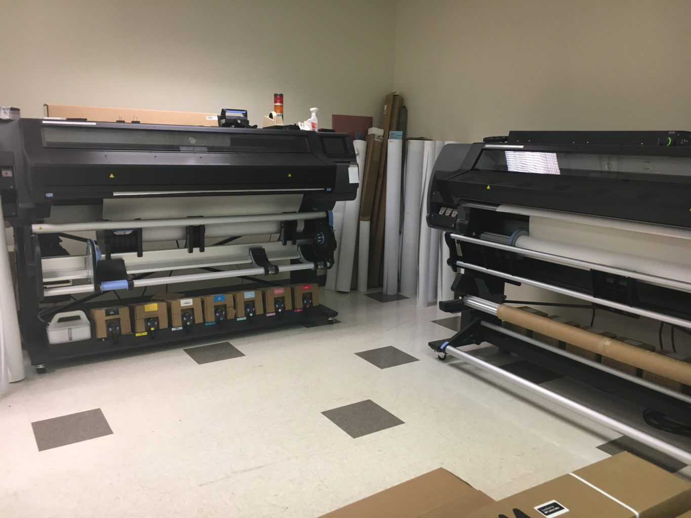 Printers and rollers for ART and association framing business