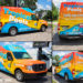 This Creative van wrap design contest winner