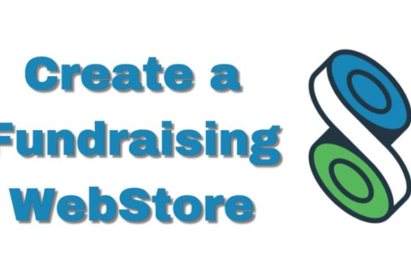 create a fundraising online webstore