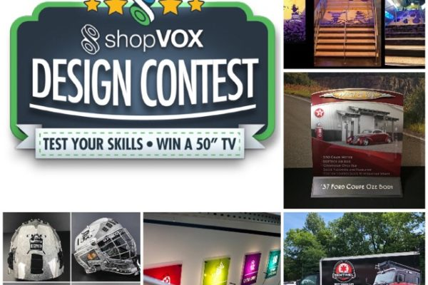 design contest finalists for November VOXcontest