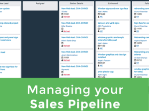 managing your sales lead pipeline for more business