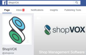 shop management on facebook