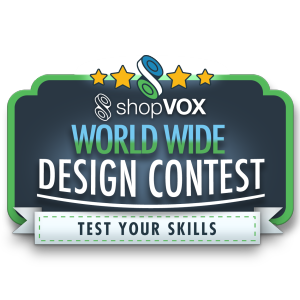 shopvox world wide design contest