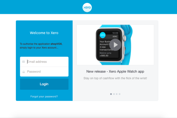 xero integration with shopvox